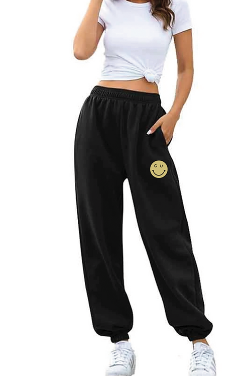 CU Smiley Joggers