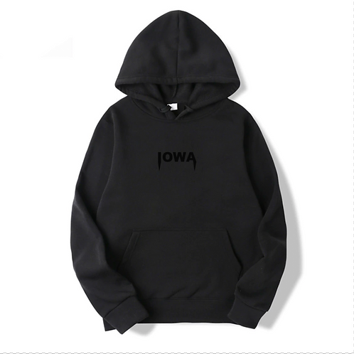 Iowa Embroidered Hoodie
