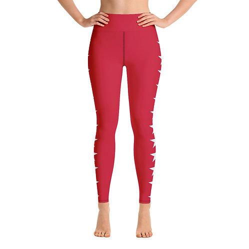 red star Leggings