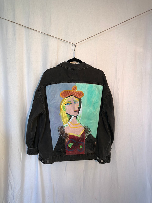 Artist Inspired Painted Unisex Jacket