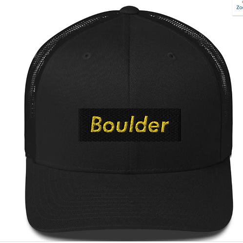 Boulder Embroidered Hat