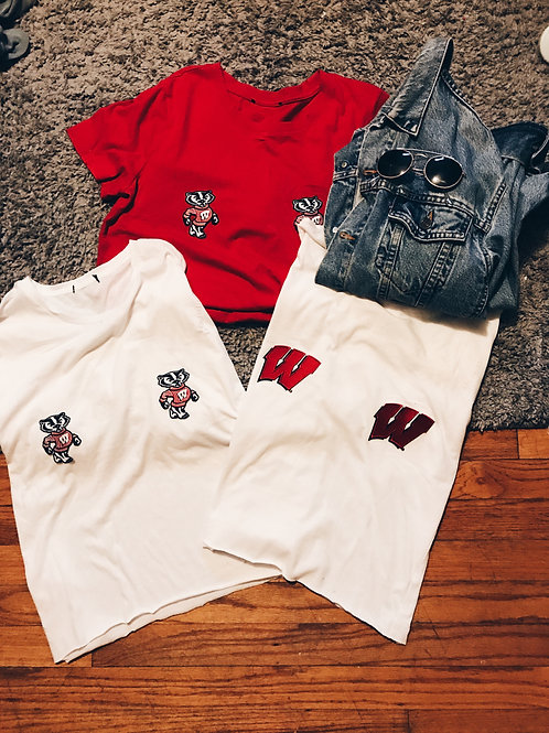 Double Trouble Cropped Shirt