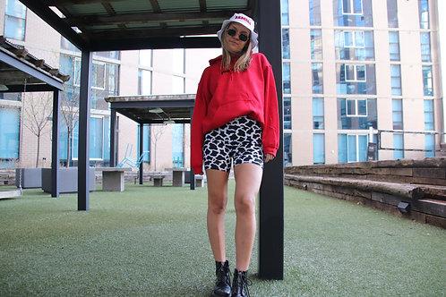 Cow print Biker Shorts