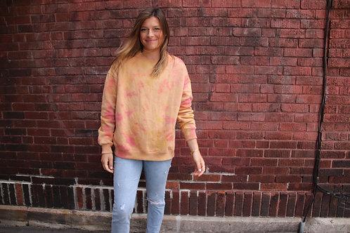 Oversized Dyed Sweatshirt