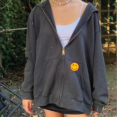 MN Smiley Full Zip Sweatshirt