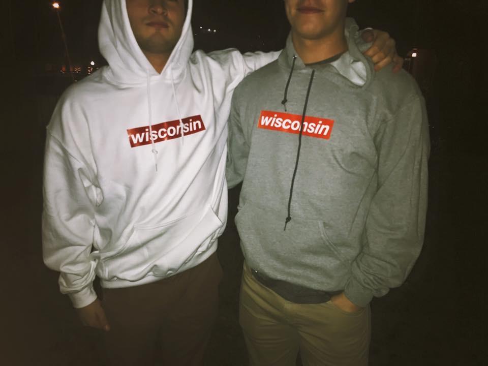 Wisconsin supreme hoodies