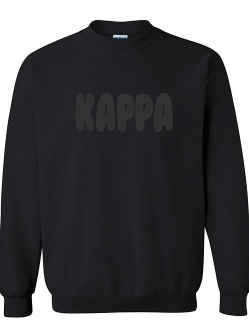 Kappa Puff Paint Crew Sweatshirt