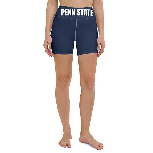 Penn State Banded Biker Shorts