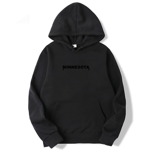 Minnesota Kanye Embroidered Hoodie