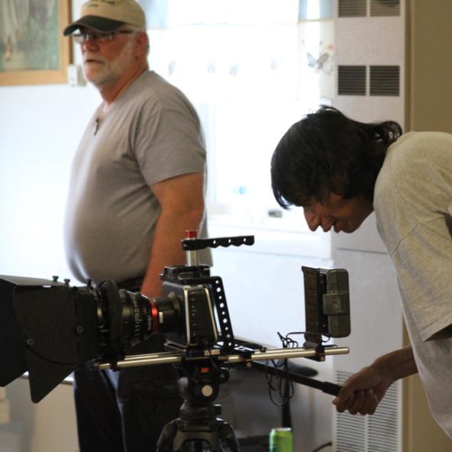 Technical Coach- Jack Sitch (Reel Jobs Teacher) and Director Photography Trevor Ireland.