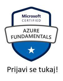 Začenjamo z izobraževanji za Microsoft Azure Fundamentals certifikate - pridruži se 💻