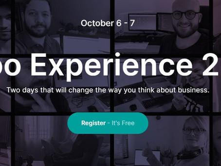 Odoo Experience 2021 - največji poslovni, odprtokodni spletni dogodek 💻🔐