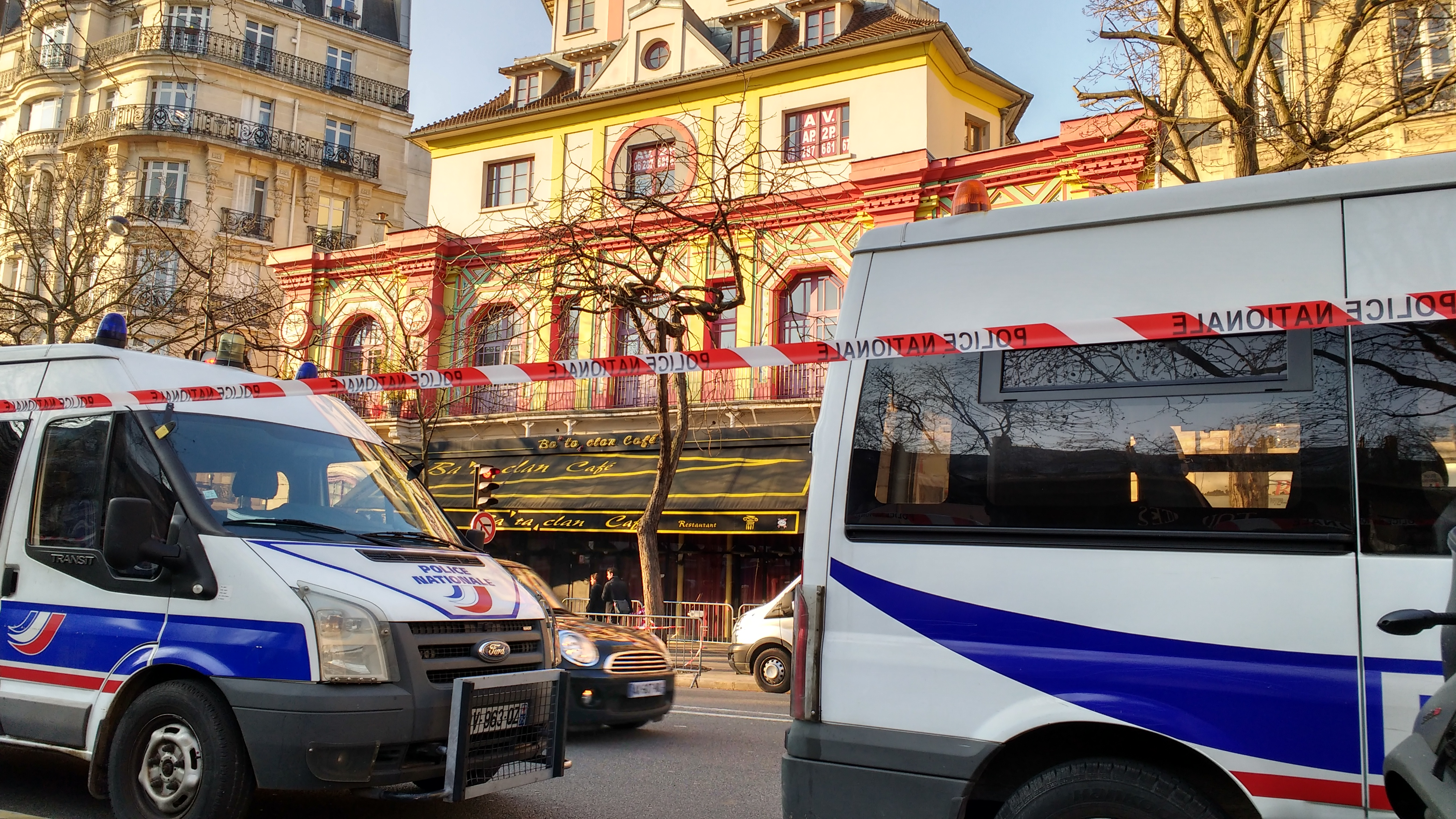 Reportage photos au Bataclan