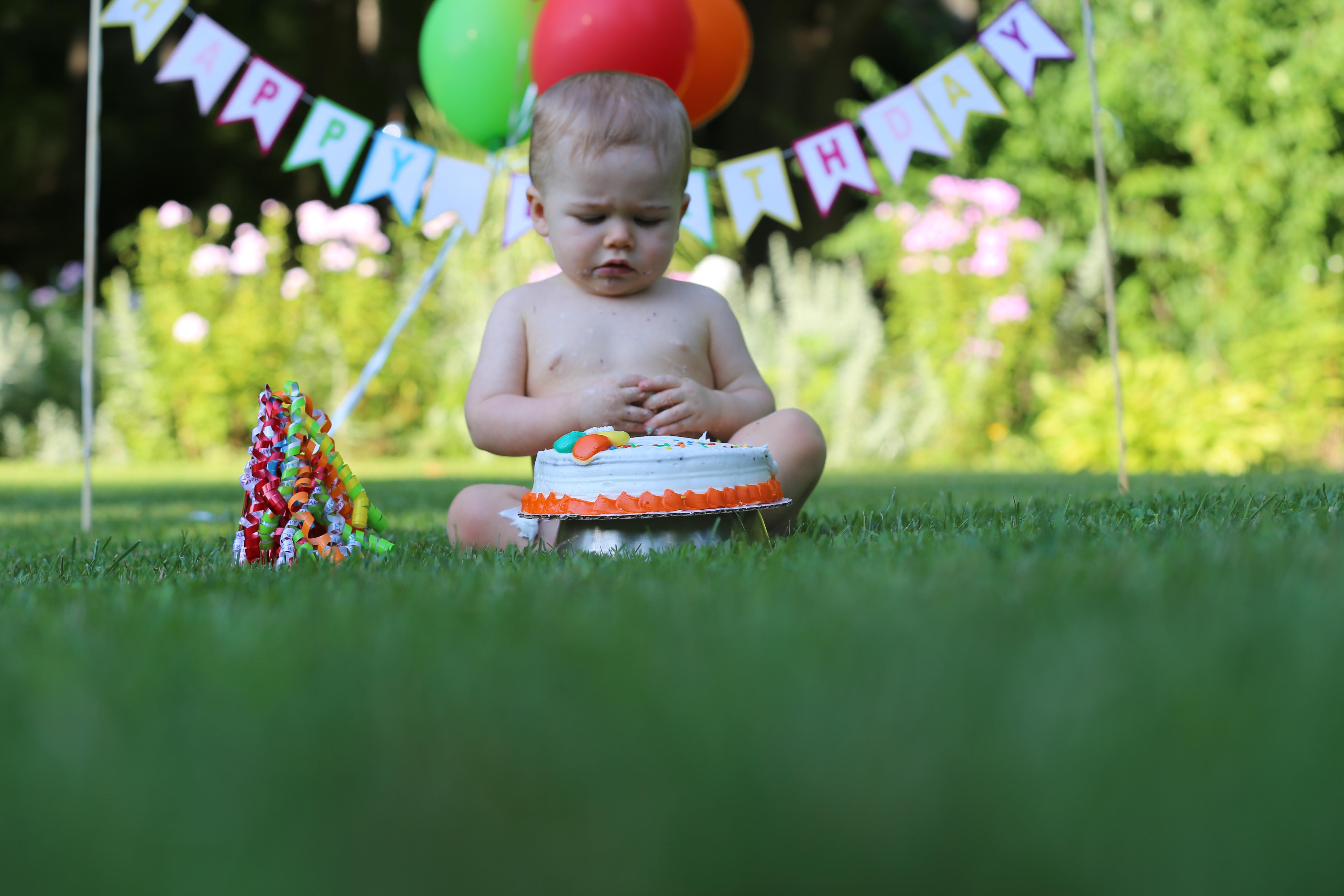 1st Birthday with Cake Smash