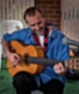 Flamenco Fiesta Group Live Guitarist Paul Martin 2018