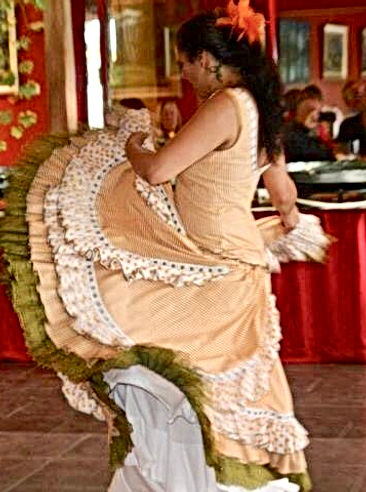 Flamenco Shows in Melbourne : Live Spanish Guitar & Flamenco Dancer : Paul & Belinda Martin : Events/Functions/Cultural Festivals : Flamenco Fiesta : Professional Shows & Fun Fiesta Workshops Melbourne Victoria Australia