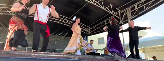 Flamenco Fiesta : Paul & Belinda Martin : Flamenco Shows for Events Functions Cultural Festivals in Melbourne Victoria Australia