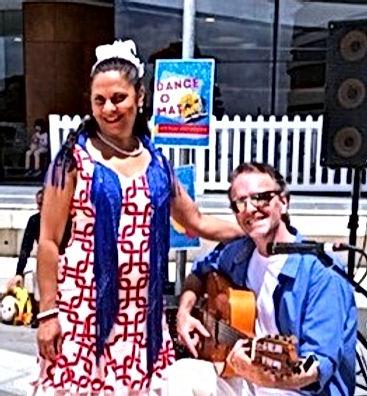 Flamenco Shows in Melbourne by Flamenco Fiesta : Paul & Belinda Martin