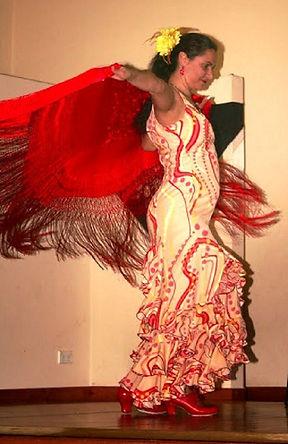 Professional Flamenco Dance Shows in Melbourne with Flamenco Fiesta : Guitar & Dancer : Paul & Belinda Martin