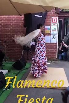 Bailando Por Alegrias by Flamenco Fiesta Group @ Spanish Language Fiesta April 2019
