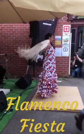 🌹 Flamenco Fiesta Group 🌹 @ Spanish Language Fiesta APRIL 2019 North Melbourne Victoria Australia