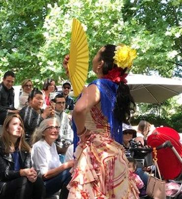 Flamenco Fiesta Melbourne Australia Events Functions Cultural Festivals Weddings Birthdays : Flamenco Shows & Workshops Spanish Guitar & Flamenco Dancer : Paul & Belinda Martin