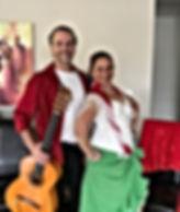 Flamenco Fiesta Group Guitar & Dancer Paul with Belinda Martin @ Private Function October 2018