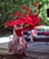 Flamenco Show  @ MPavilion Victoria Gardens Melbourne  Felices Fiesta DEC 2018