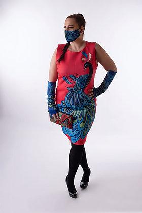 Moriah Peacock Dress