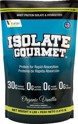 Isolate Gourmet 2 Lb - Vitanas
