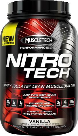 Nitro Tech 2 Lb - Muscletech