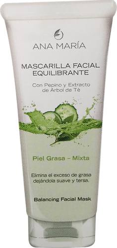 Mascarilla Equilibrante Pepino y Árbol de Té *60 gr