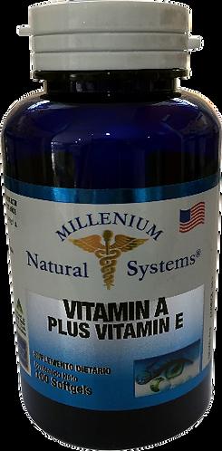 Vitamin A plus Vitamin E *100 Sof Natural Systems