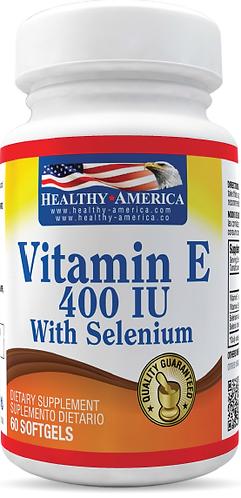Vitamin E 400 UI *100 Sof Healthy América