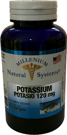 Potassium 120 mg *100 Sof Natural Systems