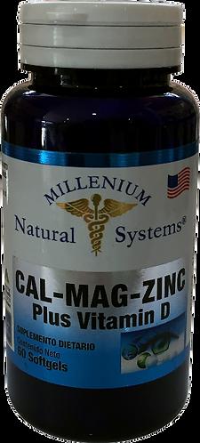 Cal Mag Zinc *60 Soft Natural Systems