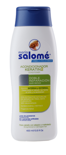 Acondicionador keratin * 400 ml - María Salomé