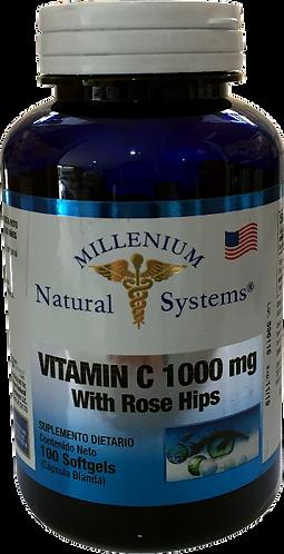 Vitamin C 1000 mg *100 Sof Natural Systems