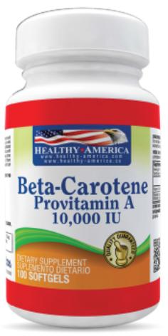 Beta-carotene *100 Sof Healthy América