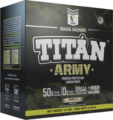 Titan Army 12 Lb - Vitanas