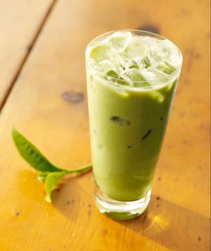 Green Milk Tea1