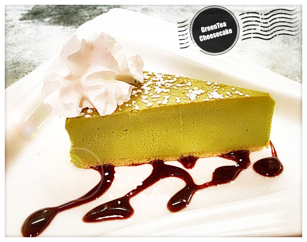 Greentea Cheesecake