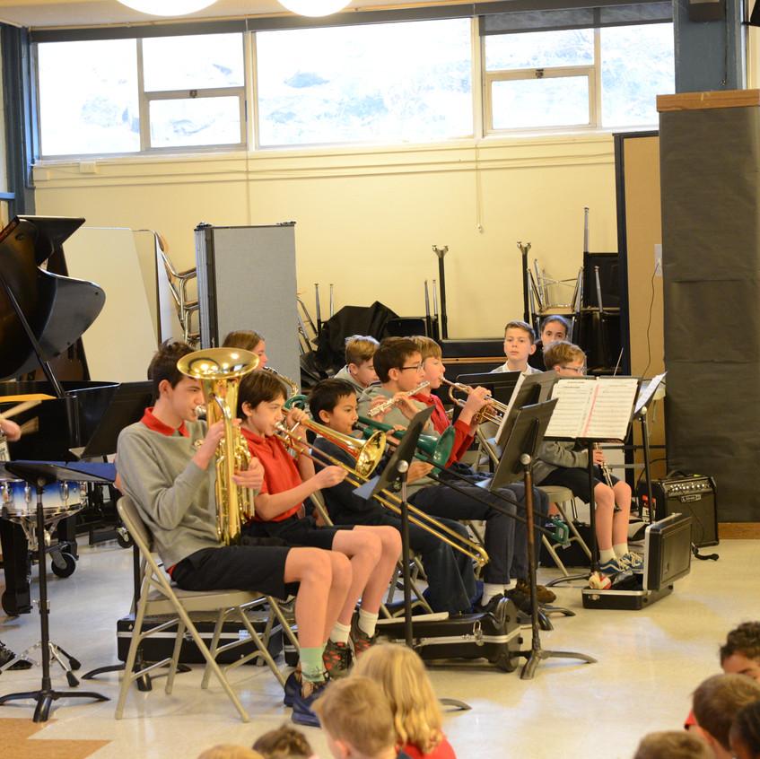 St. Luke Band Veteran's Day Assembly