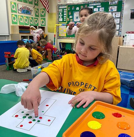Math in action in Preschool