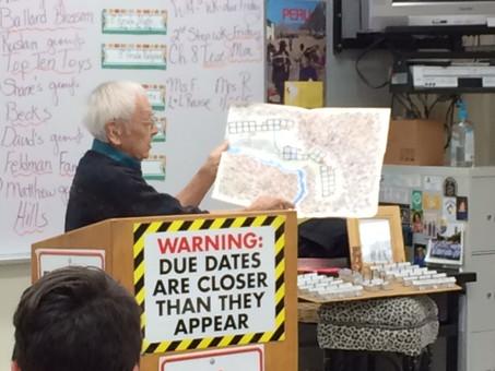 World War II Internment Camp Survivor Shares Story at St. Luke School