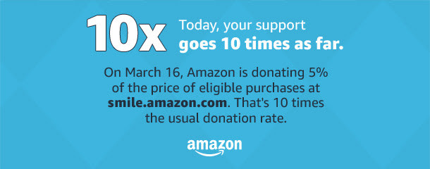 Click on the image below to Access Amazon Smile for St. Luke School