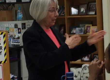 WA State Rep Ruth Kagi Visits