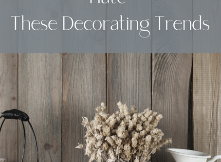 Homebuyers Love to Hate These Decorating Trends