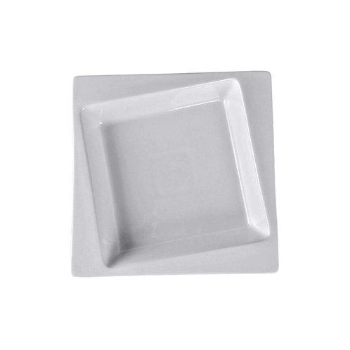 "Square Collection 8.7"" Porcelain Soup Plate"