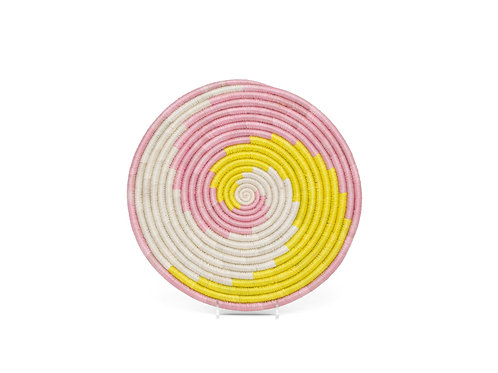 "10"" Blush Pink + Sun Unity Trivet"